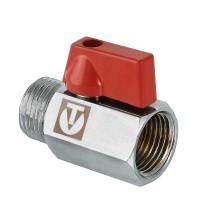 Кран латунный шаровой VALTEC MINI Ду 15 ВР-НР VT.331.N.04