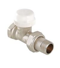 Клапан VALTEC термостатический для радиатора прямой 3/4