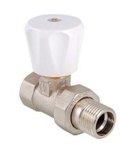 Клапан регулирующий для радиатора прямой VALTEC 1/2