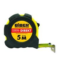 Рулетка Biber Direkt обрезиненный корпус 5 м * 19 мм 40103