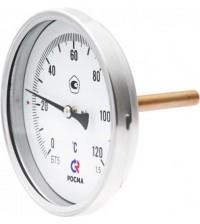Термометр биметаллический БТ-51.211(0-160С)G1/2.64.1,5