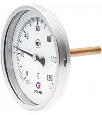 Термометр биметаллический Росма БТ-51.211 0-160 С G1/2.64.1,5