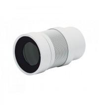 Удлинитель гибкий АНИ пласт для унитаза выпуск 110 мм ( 200 - 360 мм ) K821