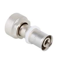 Пресс-фитинг с накидной гайкой под евроконус VALTEC 16 (2,0) x 3/4  VTc.712.NE.1605