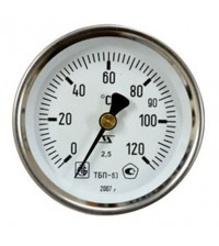 Термометр МЦ-Багория ТБП 63/100/Т3 - 0-160 С