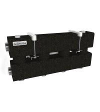 Коллектор отопления стальной Gidruss MK-100-2.EPP 2 магистрали G 1 1/4