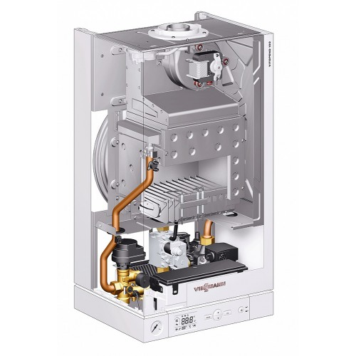 Котёл газовый двухконтурный Viessmann Vitopend 100-W K-rlu 34 кВт настенный A1JB012