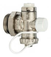 Регулируемый концевой фитинг STOUT с дренажным вентилем 1