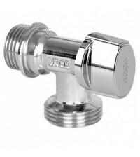 Кран латунный шаровой Arco L-94 угловой для стиральной машины Ду 15 - 20 Н NOVFR729