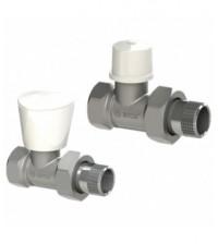 Комплект для радиатора Arco Teide Plus клапаны прямые 1/2