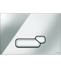 Кнопка смыва Cersanit ACTIS хром BU-ACT / Cg
