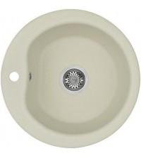 Мойка кухонная Акватон МИДА 59,2 см жемчужная круглая 1A712732MD240