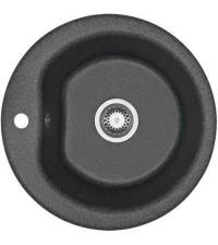 Мойка кухонная Акватон МИДА 51 см графит круглая 1A712732MD210