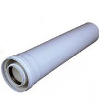 Труба дымохода коаксиального Protherm 60/100 1000 мм в комплекте с хомутом 0020199397