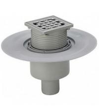 Трап вертикальный Viega Advantix Ду 50 265 * 265 мм нержавеющая решетка сухой затвор 583224