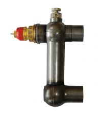 Клапан RA в стал. Корпусе для двухтруб. Систем, КТК У-2 (U-bend 2) под приварку, Ду 20мм