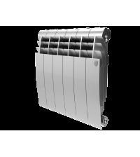 Радиатор биметаллический Royal Thermo BILINER 350 Silver Satin 10 секций боковое НС-1197126
