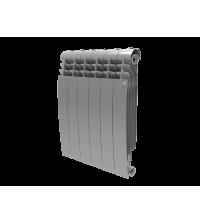 Радиатор биметаллический Royal Thermo BILINER 500 Silver Satin 6 секций боковое НС-1176318