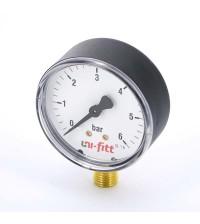 Манометр радиальный Uni-Fitt 10 бар 1/4
