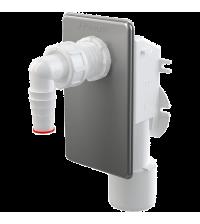 Сифон для стиральной машины Alcaplast под штукатурку нержавеющая сталь APS3