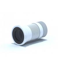 Удлинитель гибкий АНИ пласт для унитаза с металической спиралью выпуск 110 мм ( 260 - 560 мм ) K928