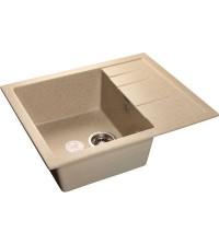 Мойка для кухни GranFest Quadro Мрамор песочный GF-Q650L