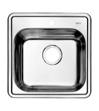 Мойка для кухни нержавеющая сталь IDDIS Strit S 485 * 485 см шелк STR48S0i77