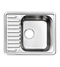 Мойка для кухни нержавеющая сталь IDDIS Strit S 585 * 485 см шелк чаша справа STR58SRi77