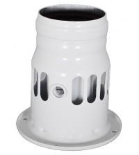 Переходник в системе отвода дымовых газов Buderus для схемы дымоудаления В22 7716050000