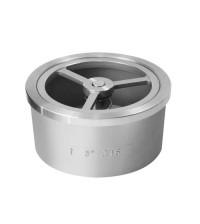 Клапан обратный стальной Benarmo DN40 PN40 пружинный 019-2474