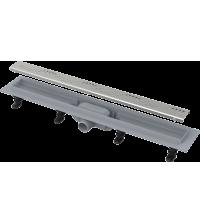 Водоотводящий желоб Alcaplast Simple с порогами для перфорированной решетки APZ8-850M