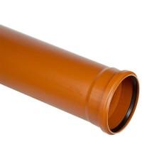 Труба ППР Дигор Стандарт 110 * 3,2 * 1000 мм для наружной канализации