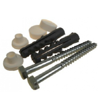 крепление для раковины (для писсуара) 8 мм с эксцентриковыми шайбами