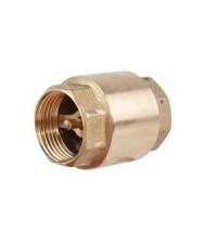 Клапан обратный пружинный Ду 15 Ру 16 латунное седло