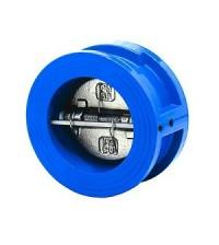 Клапан обратный двухдисковый WCV Ду 100 Ру 16 межфланцевый