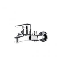 Смеситель для ванны РМС EXPERT однорычажный с литым изливом 140 мм хром SL50-009E