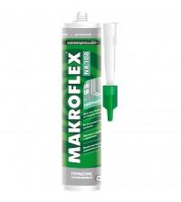 МАКРОФЛЕКС Герметик силиконовый бесцветный 290мл