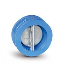 Клапан двустворчатый FAF 2350 ( диск - нержавеющая сталь) Ду 80